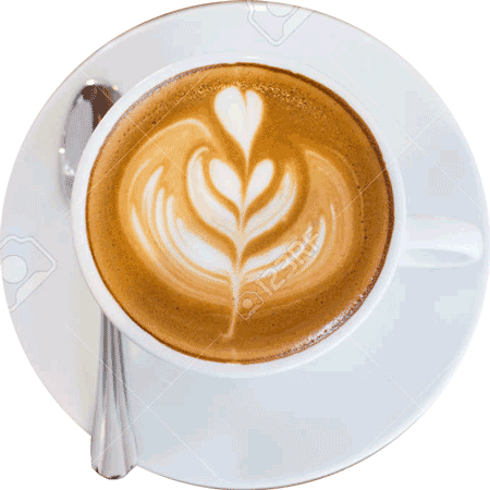 44372711-art-latte-coffee-in-a-cup-on-wooden-table-